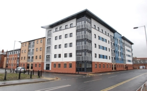 Timber Frame Social Housing Apartment Block