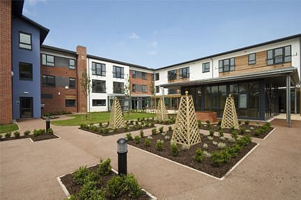 Timber Frame Buildings: Winsford Extra Care Village